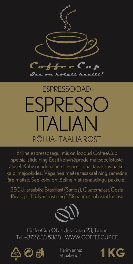 Espresso italian